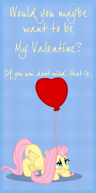 MLP Valentine Fluttershy2 by JiMMYCHaN on DeviantArt