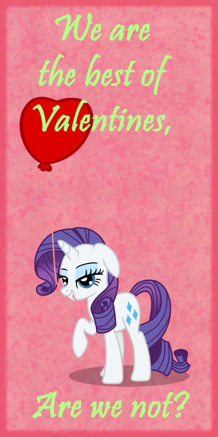 MLP Valentine Rarity2 by JiMMY--CHaN