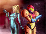 Samus Aran (commission)