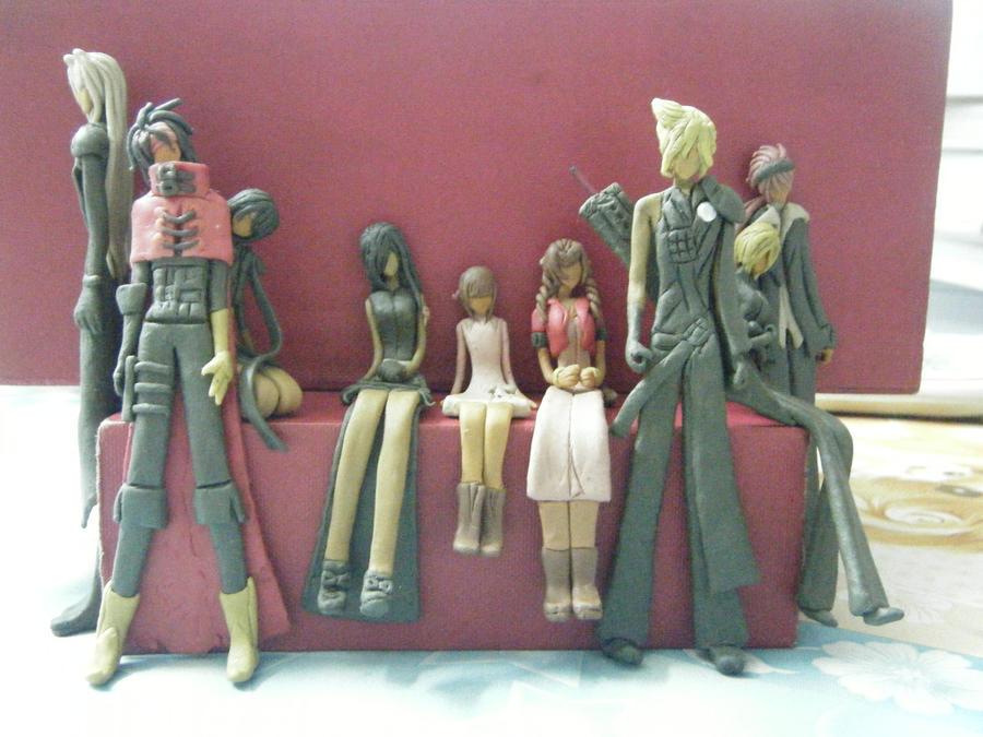 Final Fantasy VII by mna1996