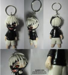 Kaneki keychain by mna1996