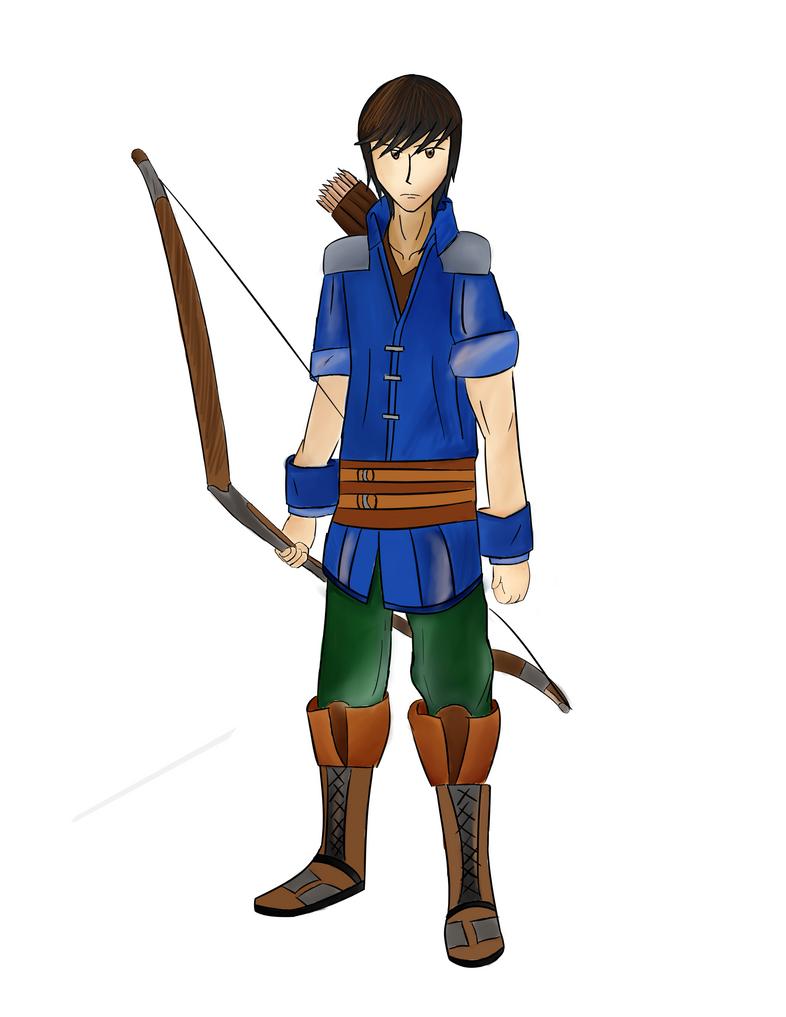 The Archer by hymug