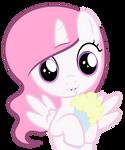 Princess Celestia loves banana-shake.