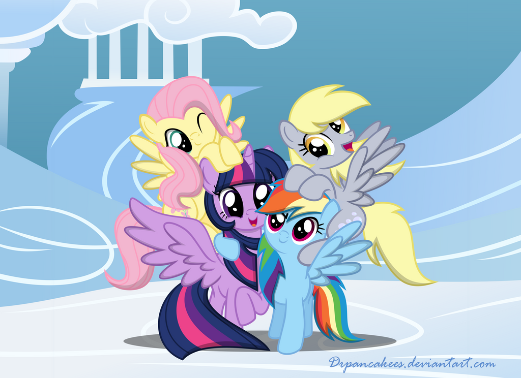 Flying Buddies! by DrPancakees