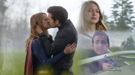 Kara and Mon-el - Supergirl