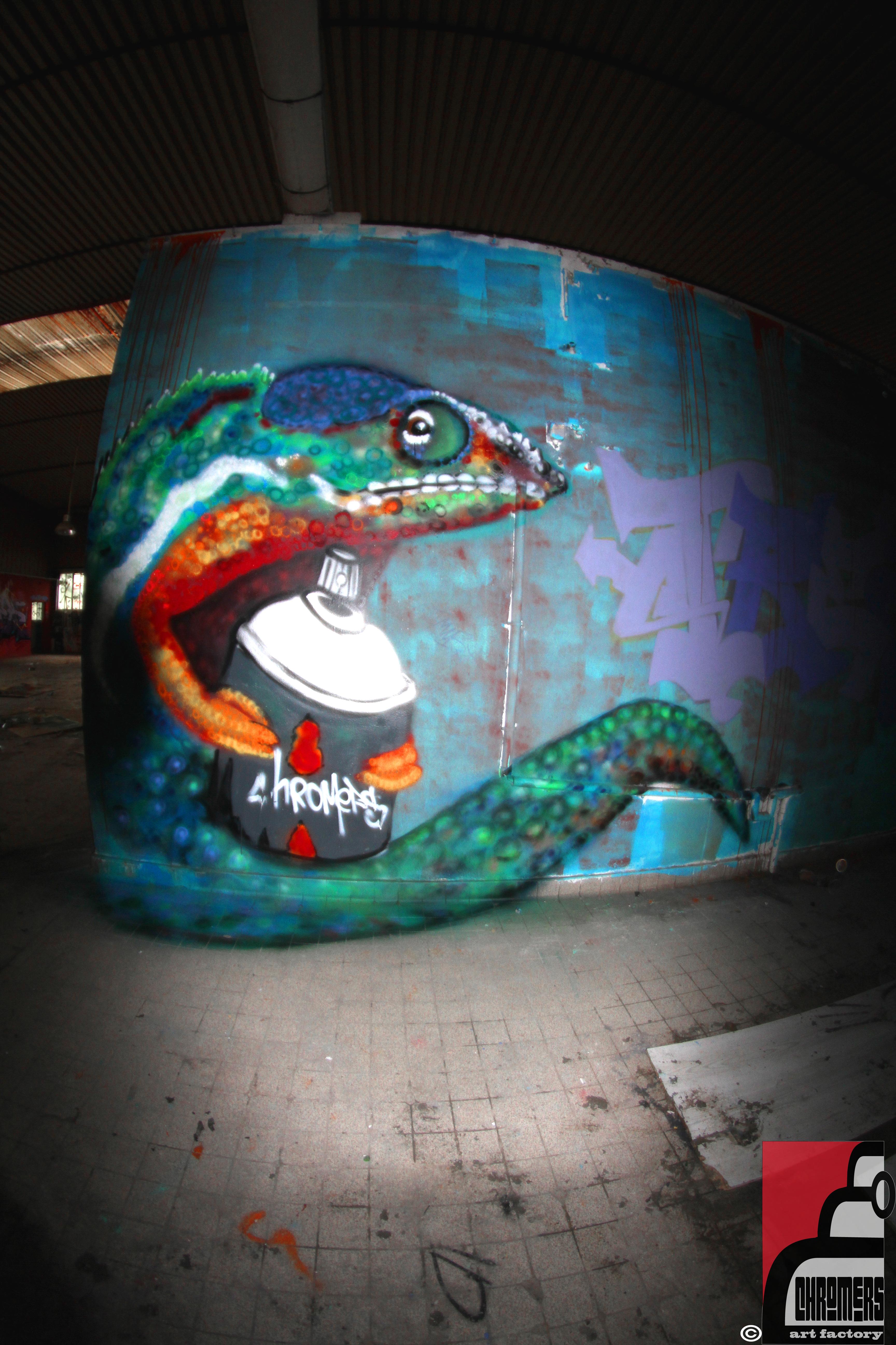 cameleon freestyle v2 by chromers-art
