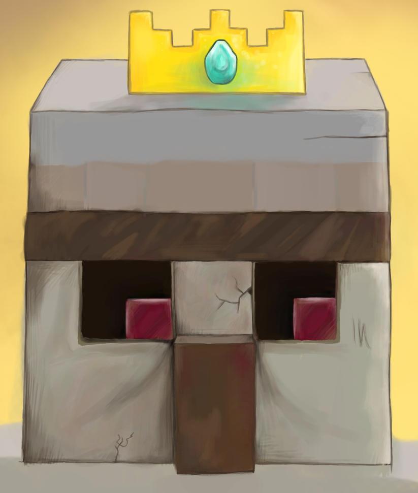 Popular Wallpaper Minecraft King - iron_golem_king__minecraft__wip_by_smashbrudda-d650jr4  2018_1163100.jpg
