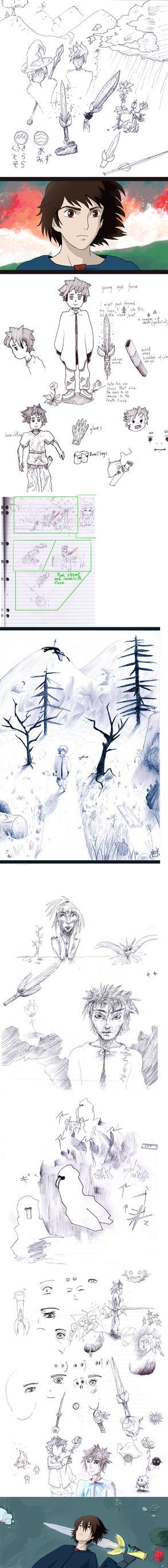 Concept Art Group 1. Air or Water by eltoNNNNNN