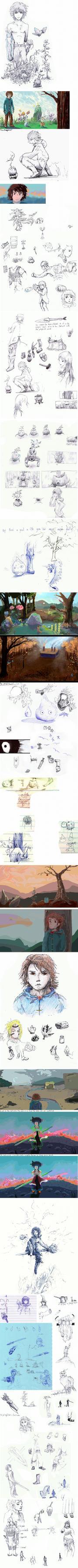 Concept Art Group 5. Air or Water by eltoNNNNNN