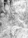 Ashitaka (Pencil Drawing Version)