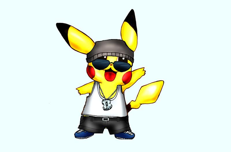 gangster pikachu - photo #1