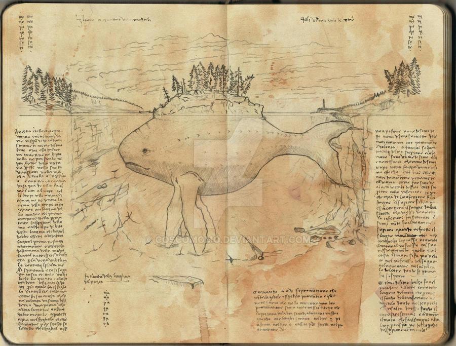 Leviathan by Coscomomo