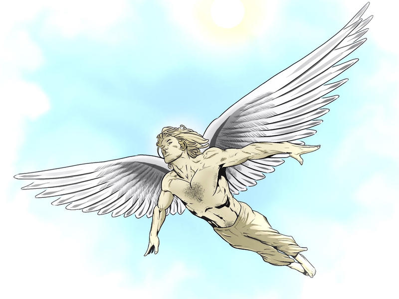 Icarus: The Angel Experiment by Coscomomo