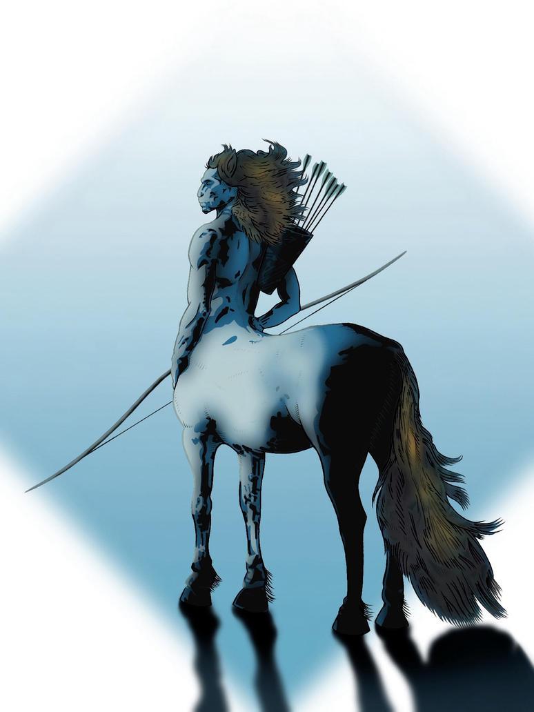 Oneron the Centaur by Coscomomo
