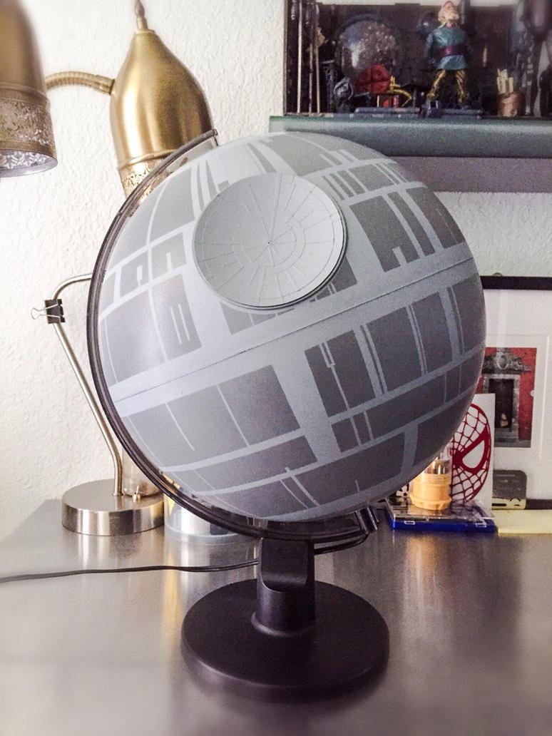 Death Star Globe by Coscomomo