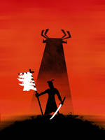 Poster 2: Samurai Jack by Coscomomo