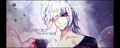 Accelerator Sign by xJapalicious