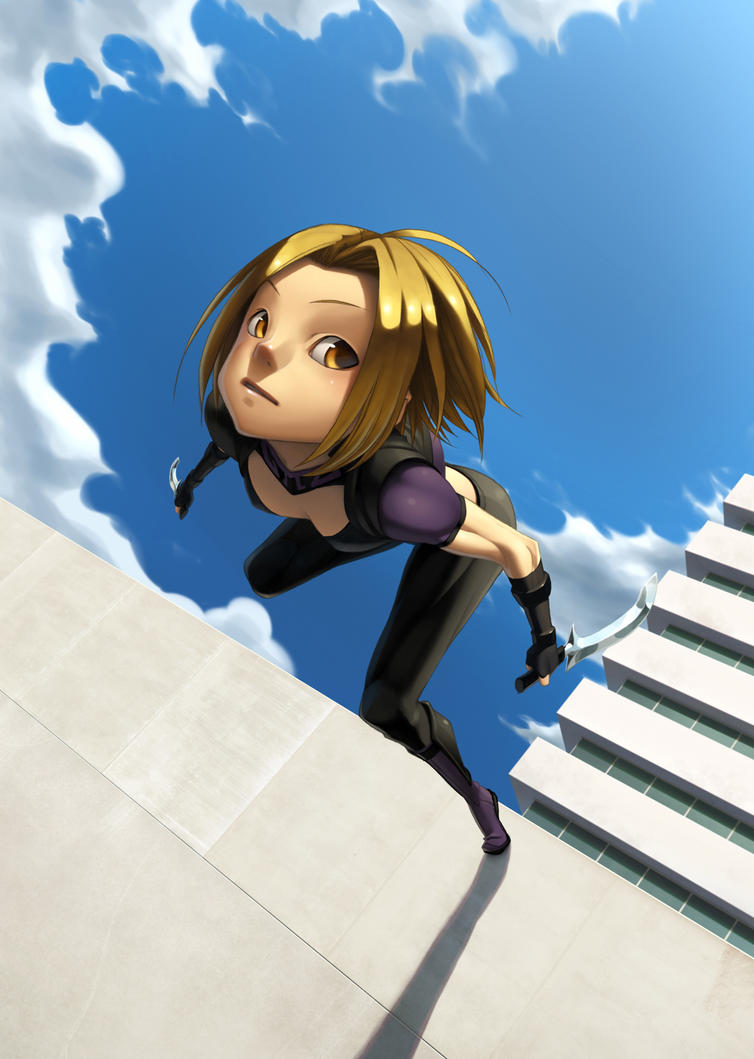 High-rise jumping_alacrity by ALKEMANUBIS