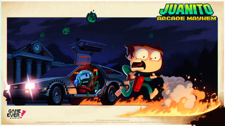 Juanito Back To The Future by ALKEMANUBIS