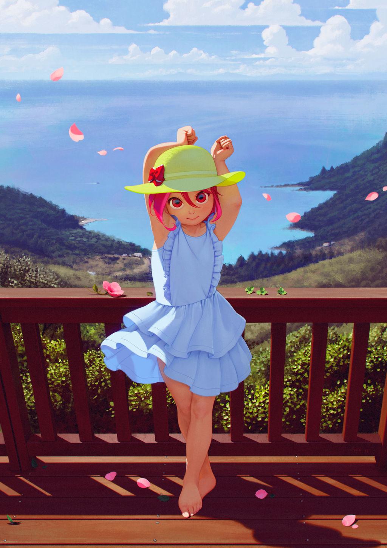 Enjoy the breeze