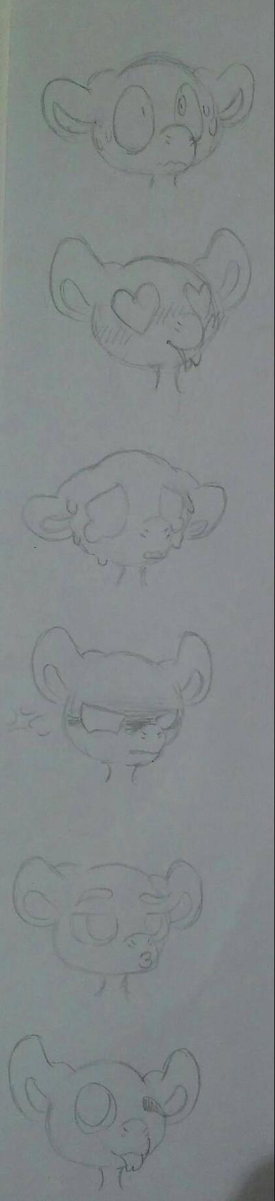 YBH: Expressions by arteest76