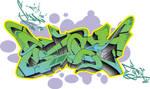 Style of East graffiti