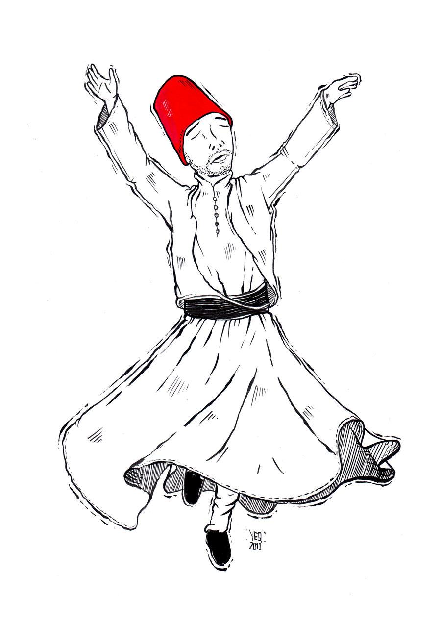 sufi dervish whirling analysos