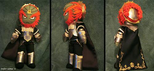 Ganondorf Plushie by seifer-sama
