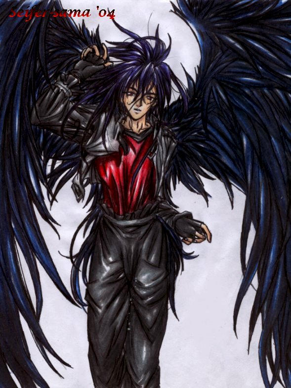 Dark Wing Angel by seifer-sama