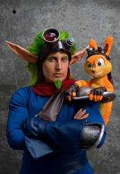 Jak and Daxter at Fanime