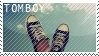 Tomboy Stamp by ToothpasteBeatboxer