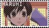 Haruhi Stamp by fluffae