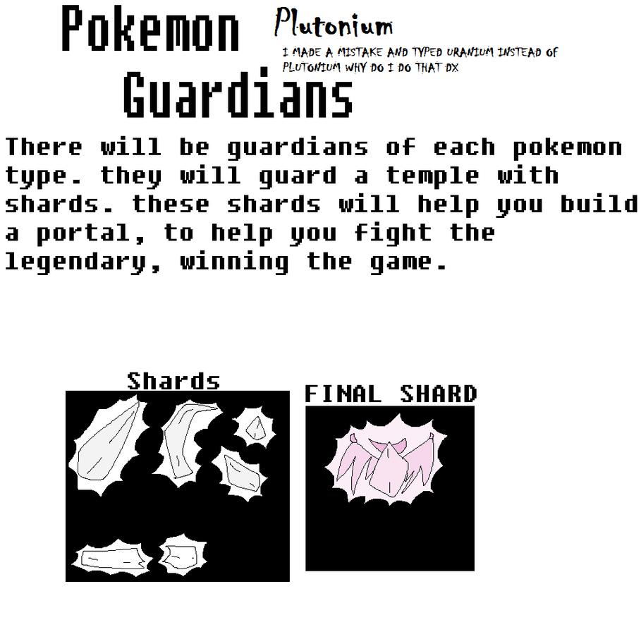Pokemon Plutonium Guardian Idea by Rainbowcow69