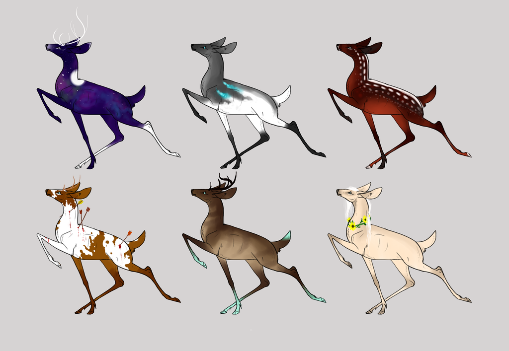 Deer Auction by amberlini