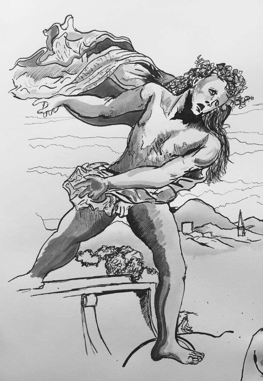 Study of Bacchus by PossessedIron