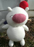 Kingdom Hearts Moogle Plush - 1