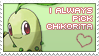 Love Chikorita by princeofpixels