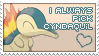Love Cyndaquil by princeofpixels