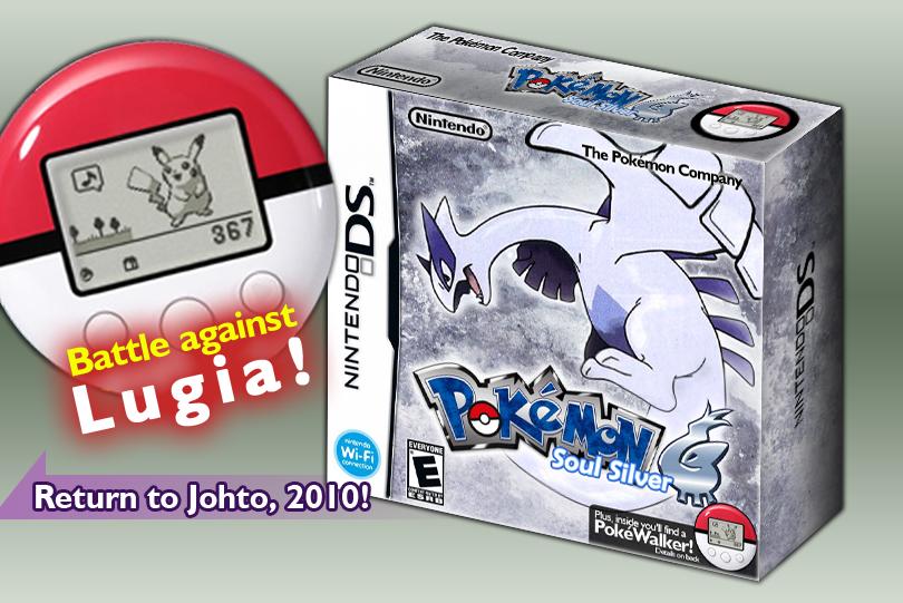 Pokemon SoulSilver:English Box By Princeofpixels On DeviantArt