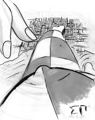 Giantess Draw - Elise Perspective by Colonel-Gabbo