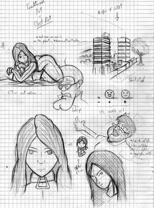 Sketch - Doodles by Colonel-Gabbo
