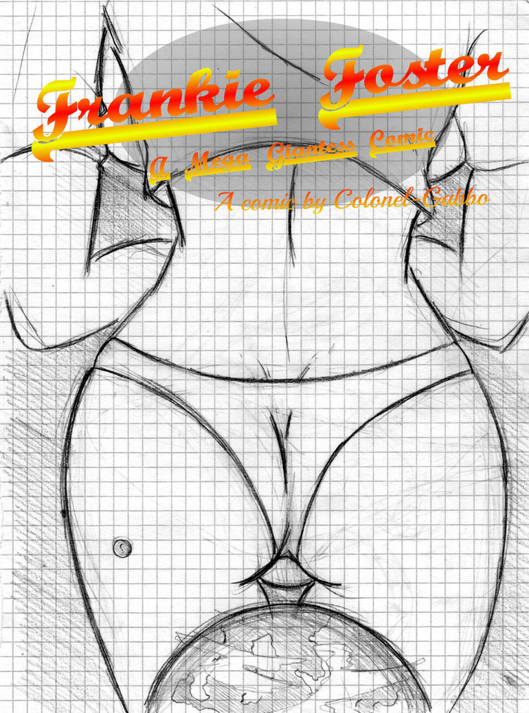 Frankie Foster Giantess Comic - Cover by Colonel-Gabbo