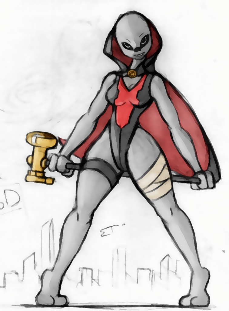 Giantess Draw - UNI-TOD by Colonel-Gabbo