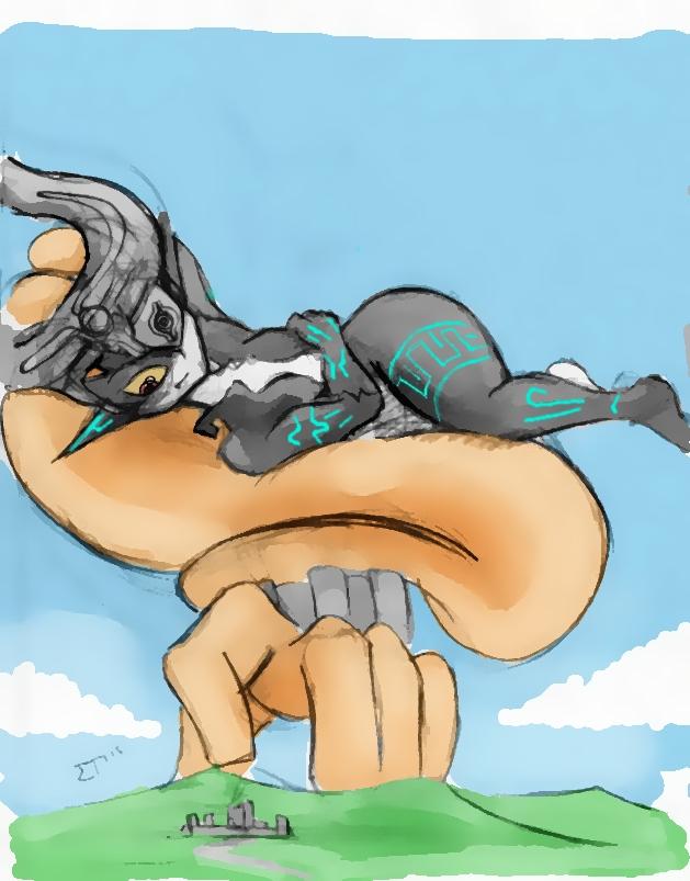 Giantess Draw - Titan Midna #1 by Colonel-Gabbo
