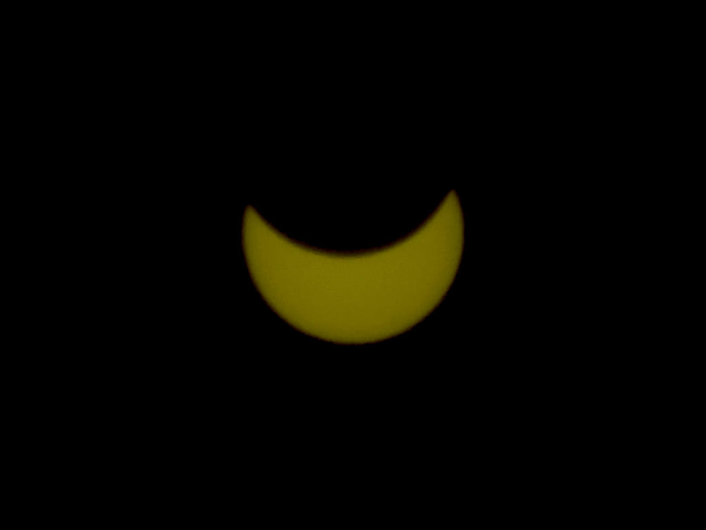 Solar Eclipse March 2015 - Italy by Colonel-Gabbo