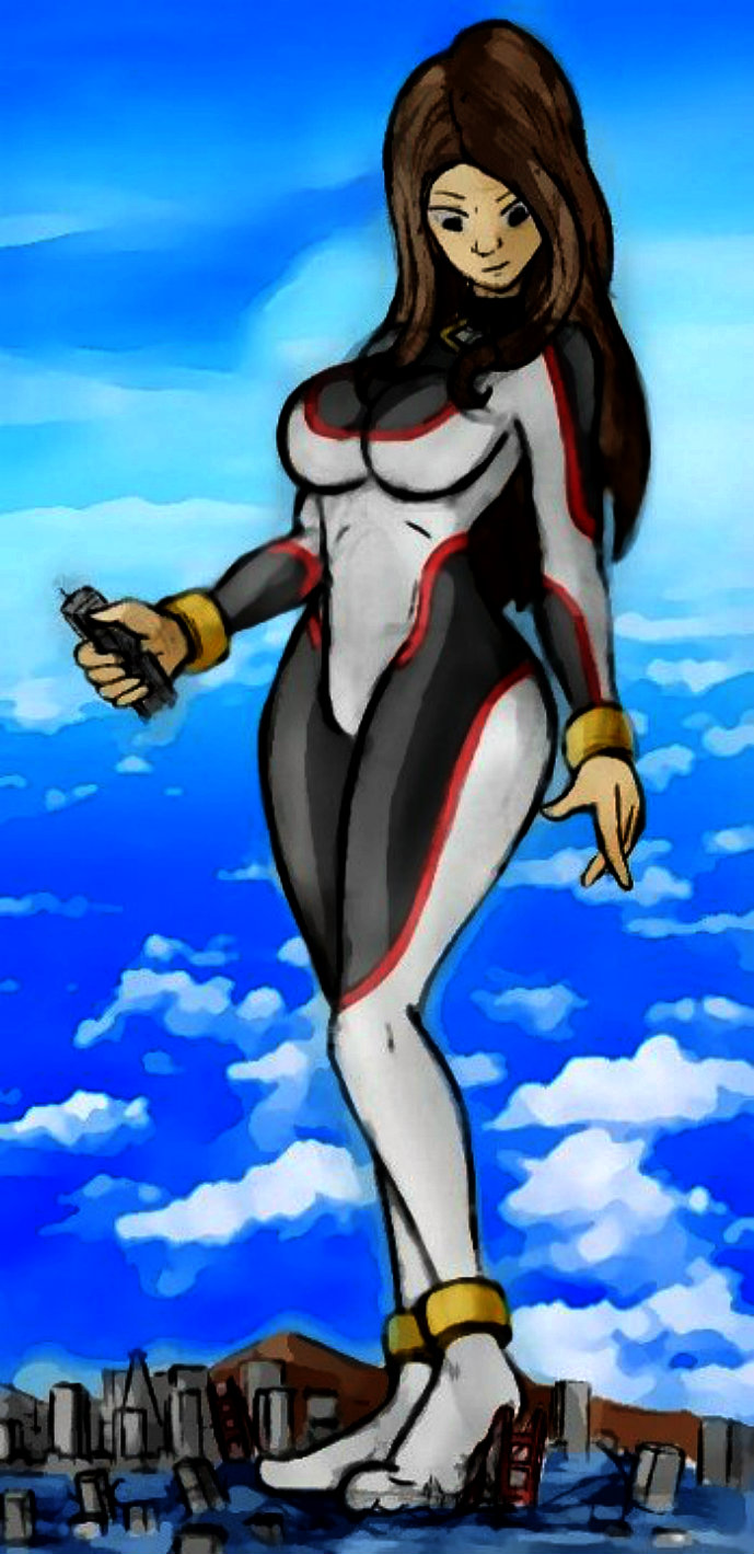 Giantess Draw - Elisa 2.0 by Colonel-Gabbo