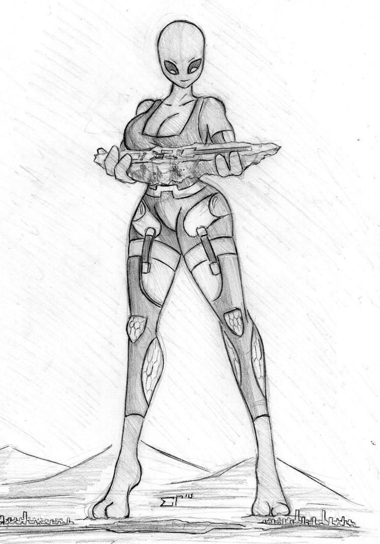 Giantess Draw - UNI-BLD by Colonel-Gabbo