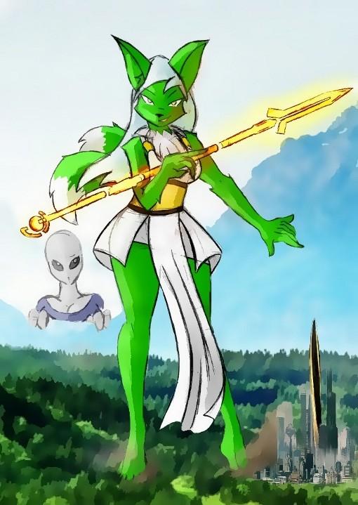 Giantess Draw - Zvyta by Colonel-Gabbo