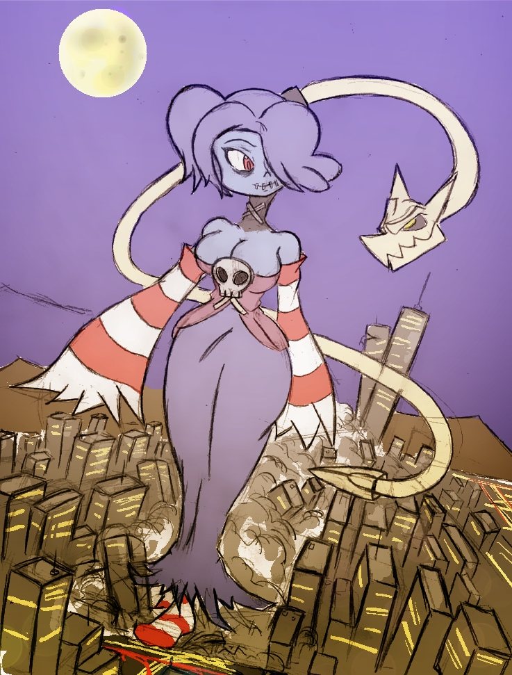 Giantess Draw - Squigly by Colonel-Gabbo