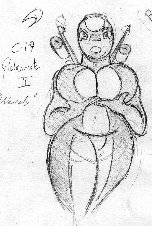 Break Sketch #9 - C-17 Globemaster Morph by Colonel-Gabbo